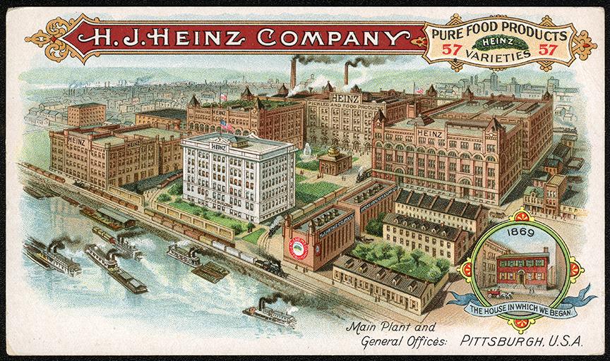 Heinz Pittsburgh Plant Postcard