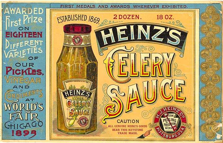 Heinz's Celery Sauce Postcard