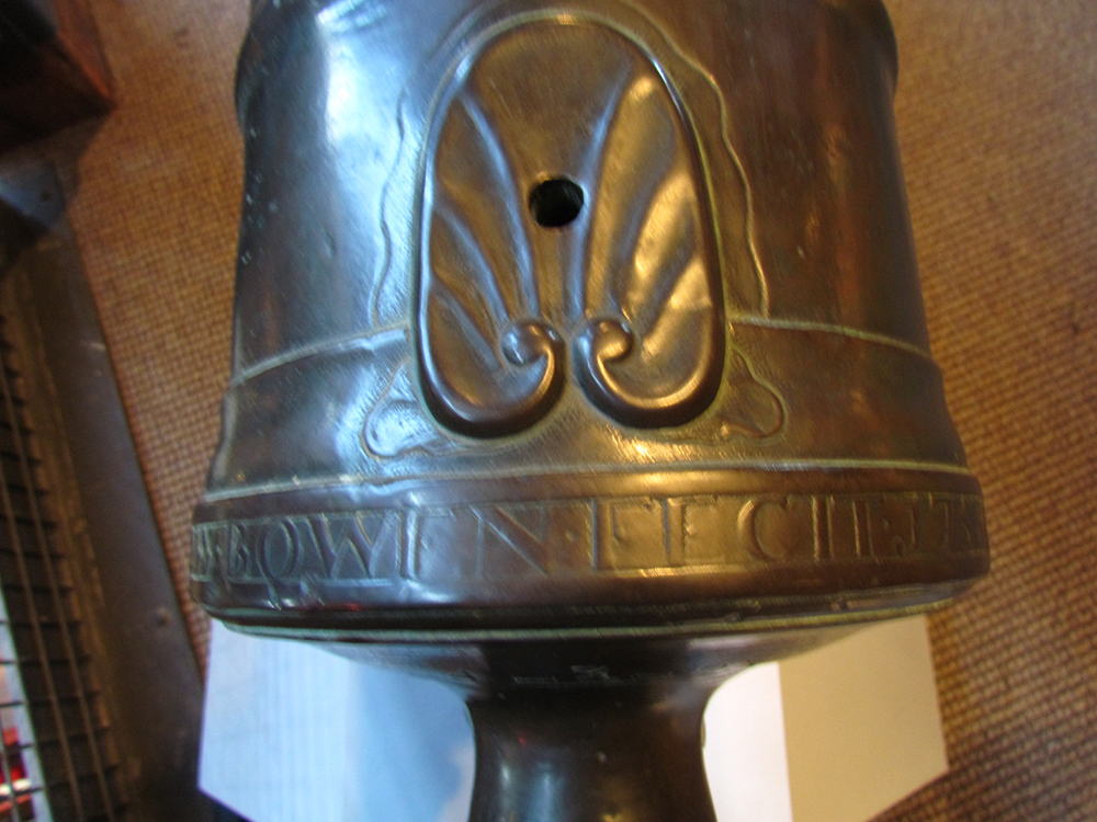 Base Ring, Original 18th Century Cannon