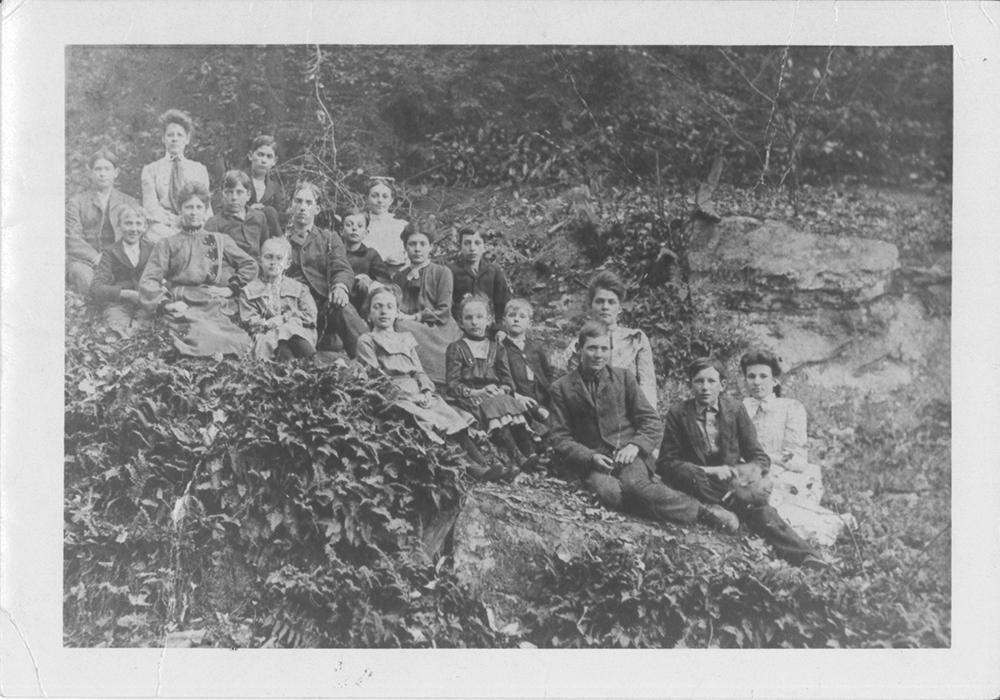 Miller School Class, c. 1905