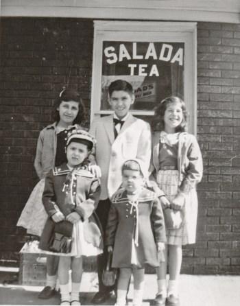 Tina Calabro and her cousins. | Heinz History Center blog