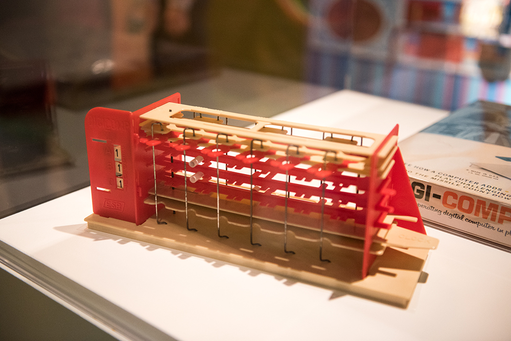 Digi-Comp 1 | Toys of the '50s, '60s and '70s Exhibit | Heinz History Center