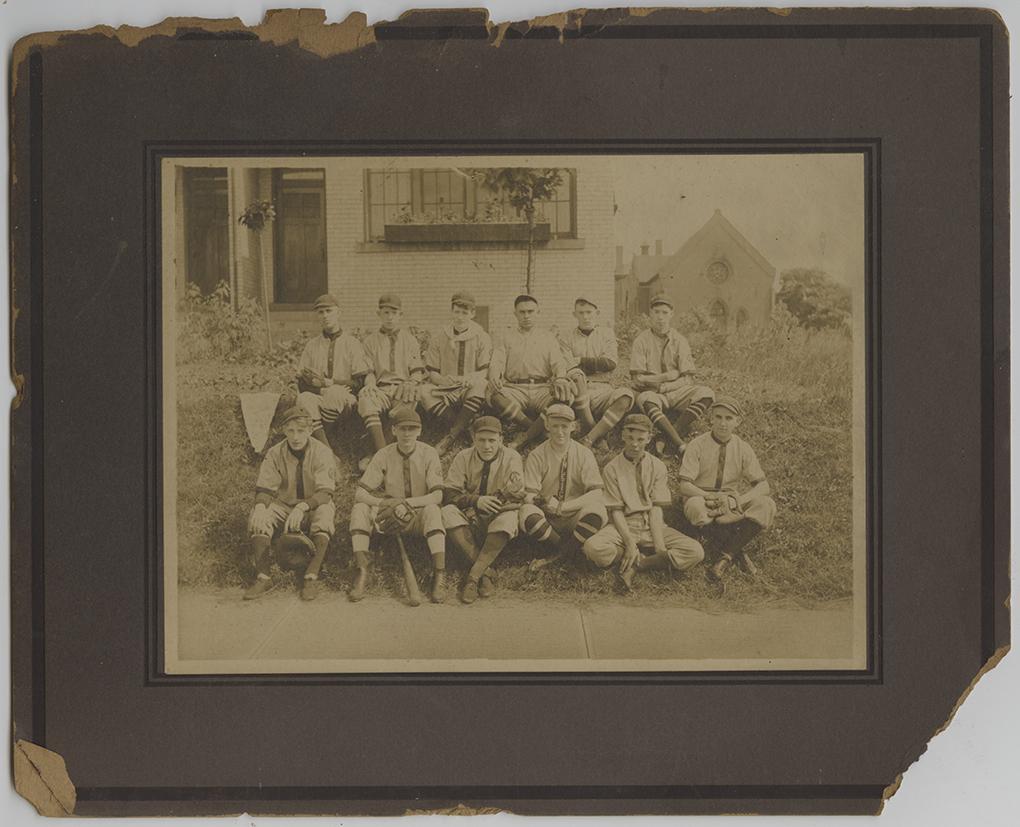 Swissvale boys baseball team photograph, Heinz History Center