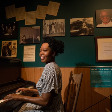 Mary Lou Williams' piano, c. 1940s, Pittsburgh: A Tradition of Innovation