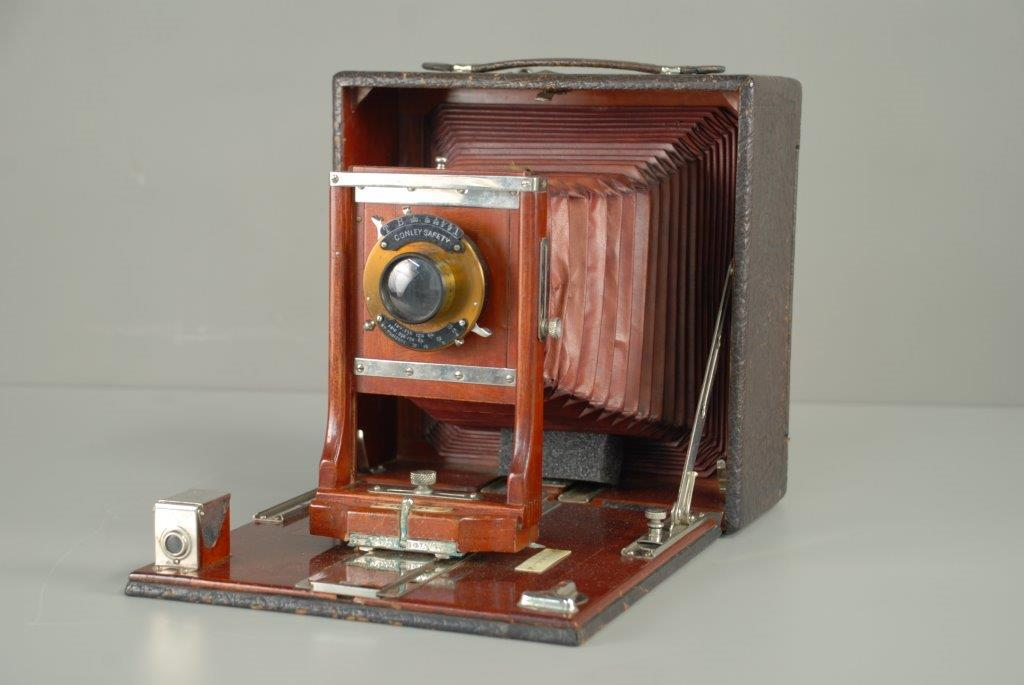 "Conley Safety Camera used by Charles ""Teenie"" Harris, 1920s. Gift of the family of Charles ""Teenie"" Harris."