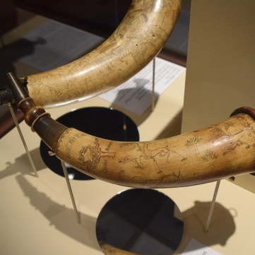 Pointed Tree Fort Pitt Horn | From Maps to Mermaids: Carved Powder Horns in Early America | Fort Pitt Museum