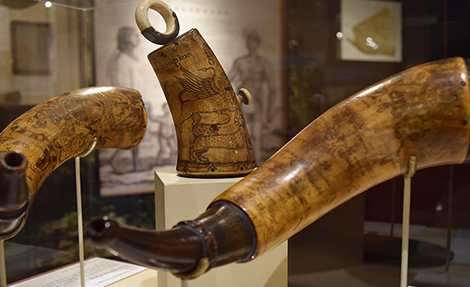 From Maps to Mermaids: Carved Powder Horns in Early America