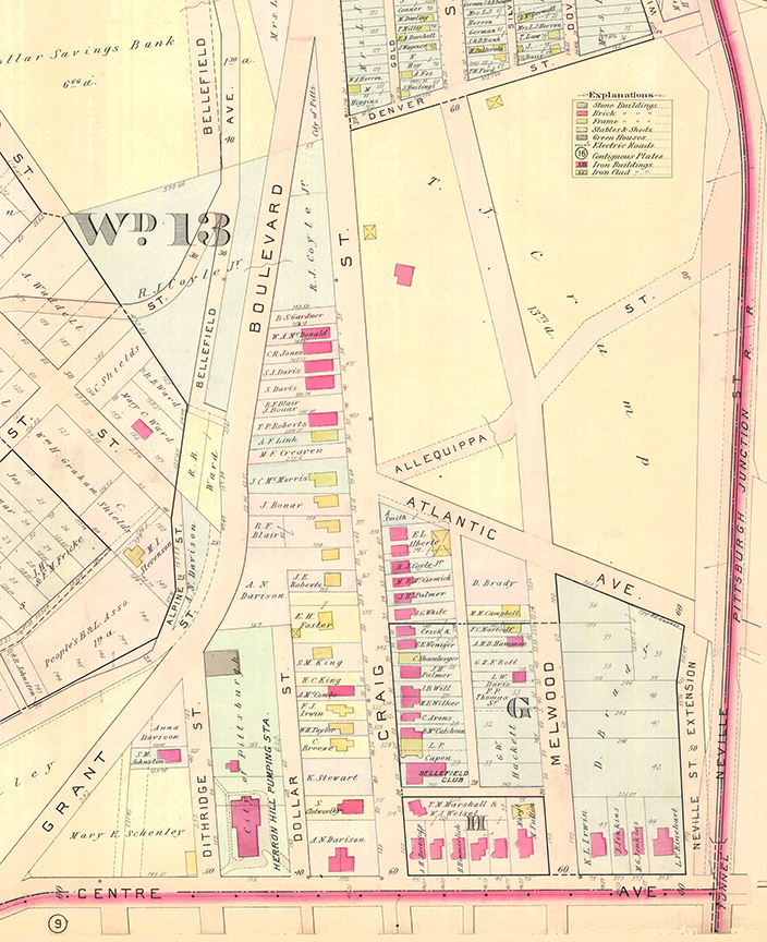 Map of Aspinwall estate, 1900 | Heinz History Center