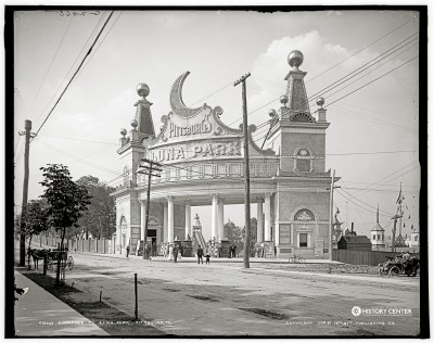 The entrance to Luna Park | Heinz History Center