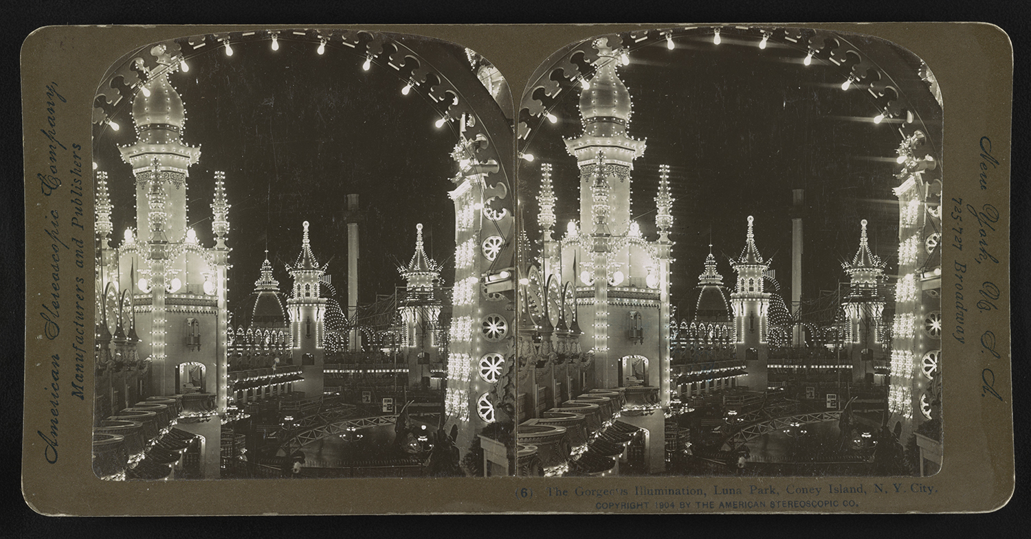 The Gorgeous Illumination, Luna Park, 1904.