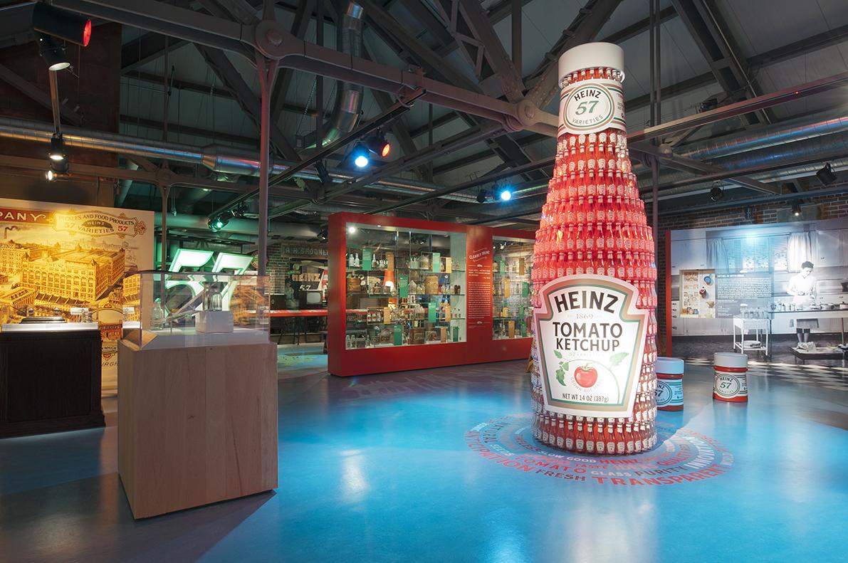 The Heinz exhibit at the Senator John Heinz History Center, 2014. Senator John Heinz History Center.
