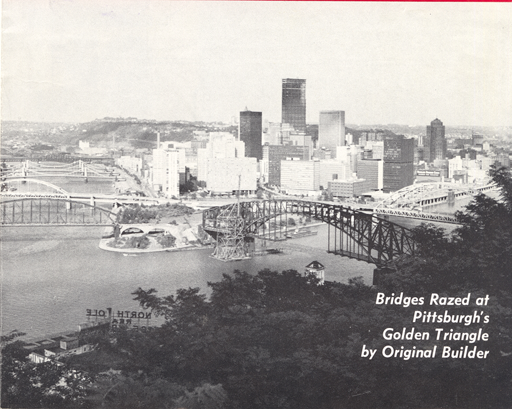 """Image of Pittsburgh from """"Constructioneer"""" magazine July 13, 1970. Allegheny Conference on Community Development MSS 285, Detre Library & Archives at the History Center."""