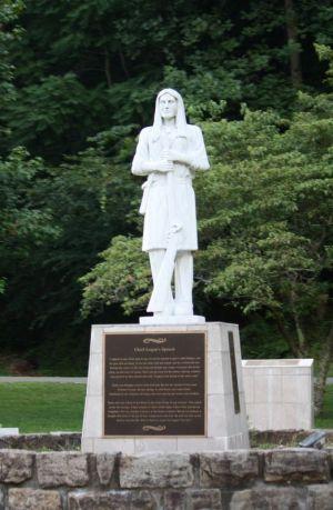 Logan Statue, Hancock County, W.Va.