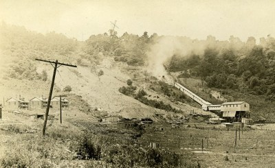 Saledka Mine of Cliftonville after the Battle. A&M 2139, Lee Collection, courtesy of the West Virginia and Regional History Collection, West Virginia University Libraries.