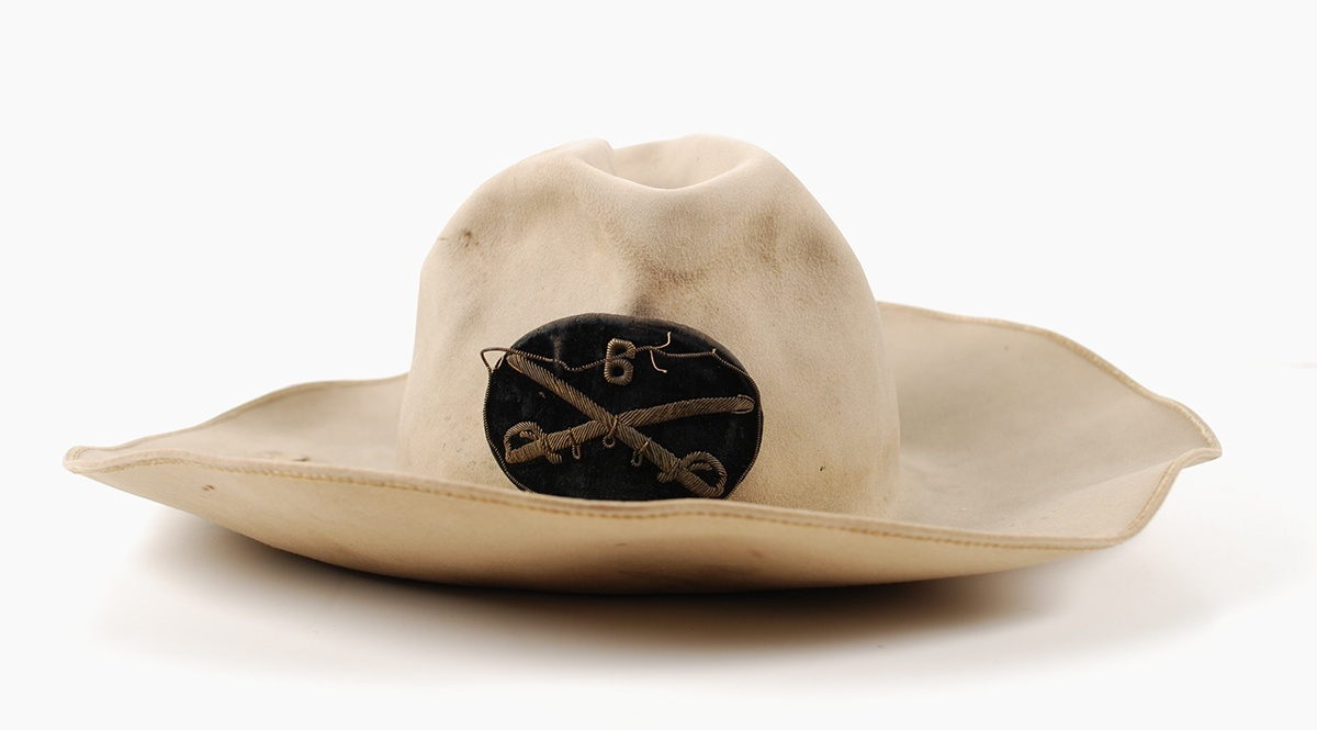 Civil War Calvary Hat, 1865