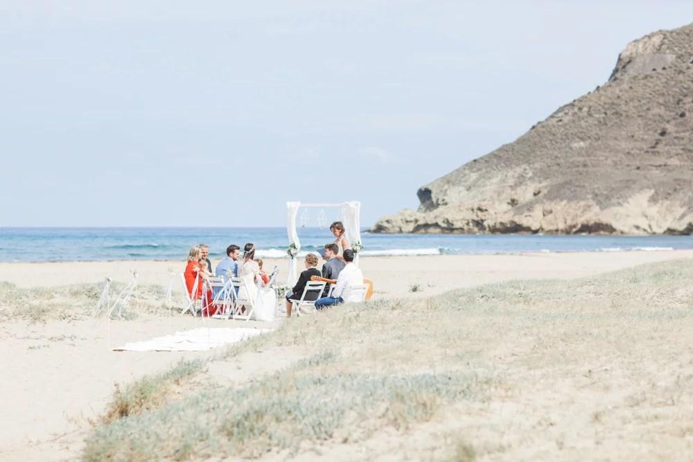 Heiraten am Strand zur zweit