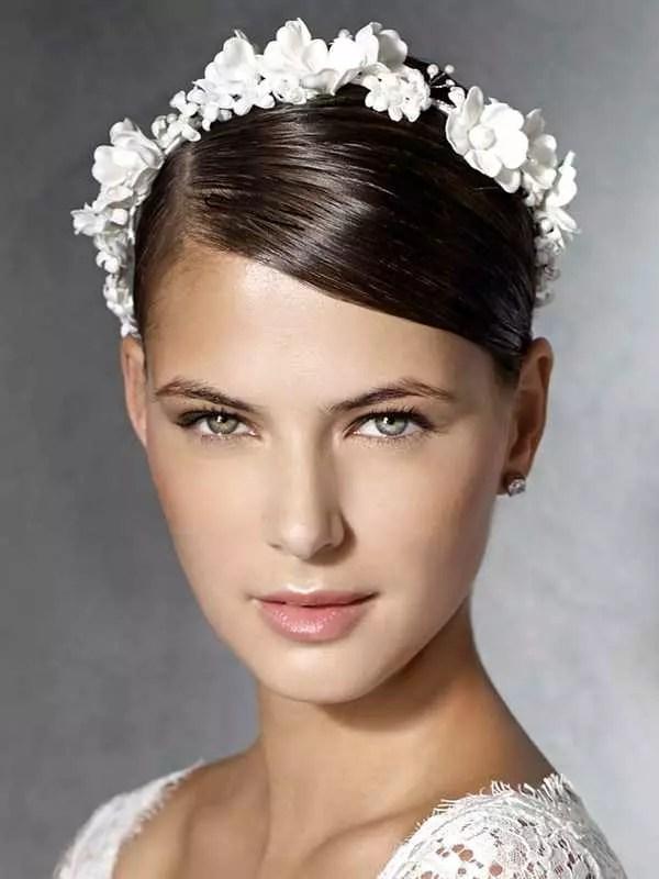 Schicke Brautfrisuren fr kurze Haare  Heiraten  Hochzeit
