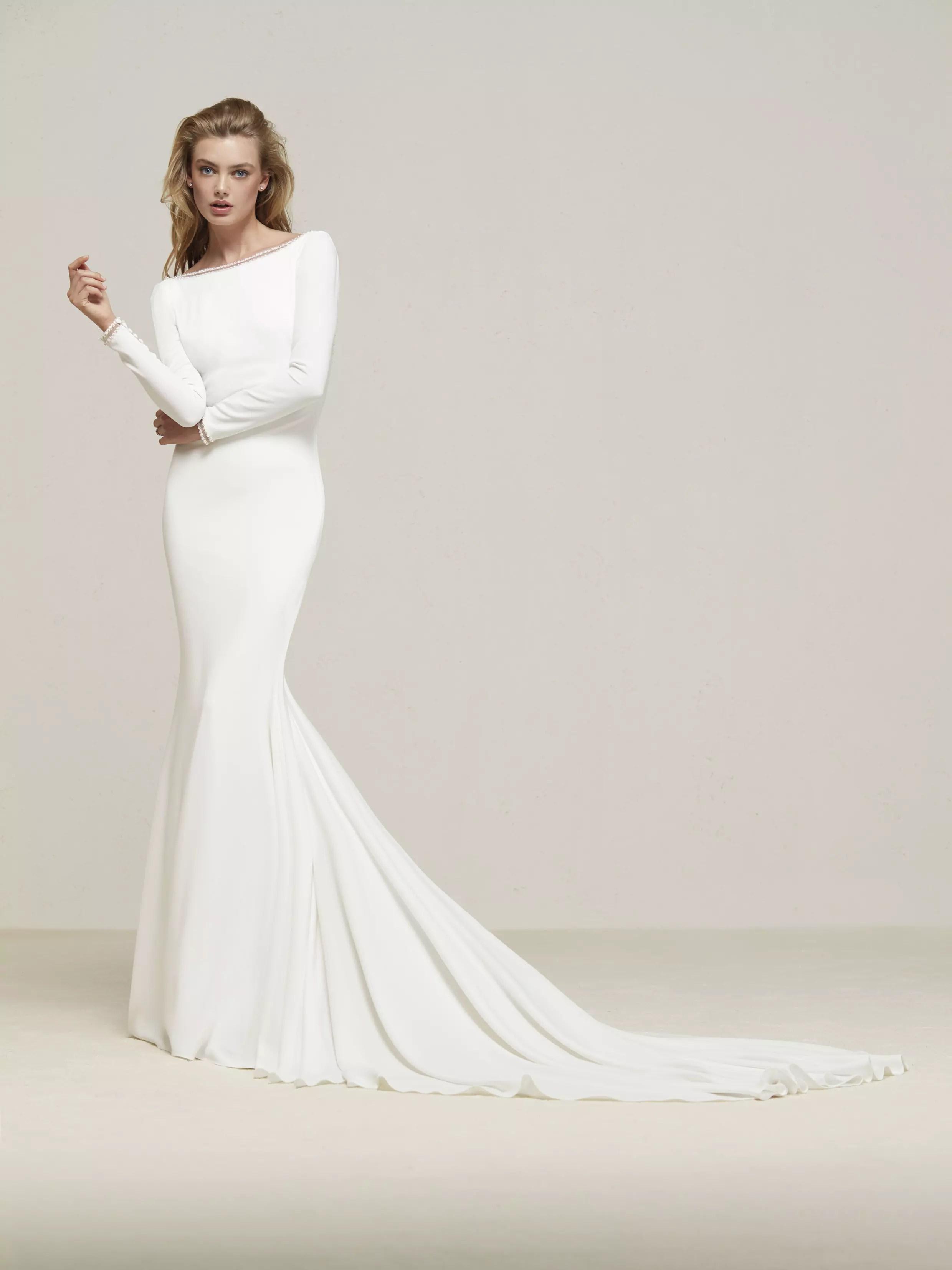 Das Pronovias Brautkleid 2018  Heiraten  Hochzeit