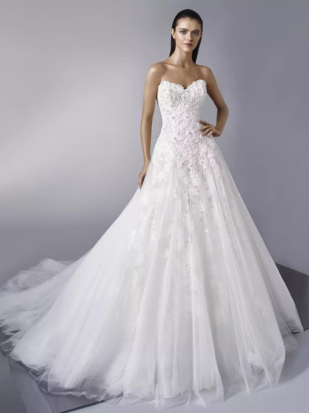 Das Enzoani Brautkleid 2018  Heiraten  Hochzeit