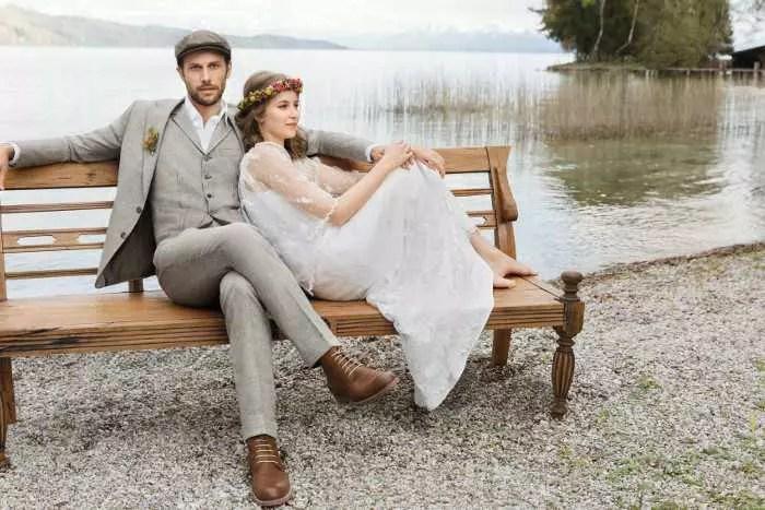 Ein legerer Hochzeitsanzug  Heiraten  Hochzeit