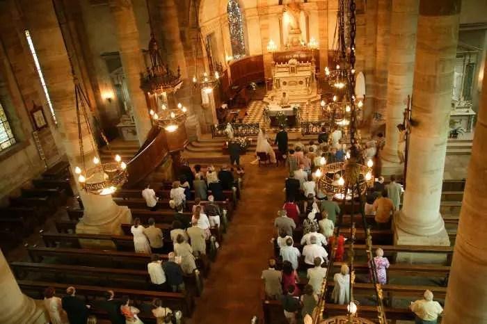 Kirchlich katholische Trauung  Heiraten  Hochzeit
