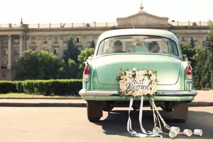 Hochzeitsauto vs Verkehrsregeln  Heiraten  Hochzeit