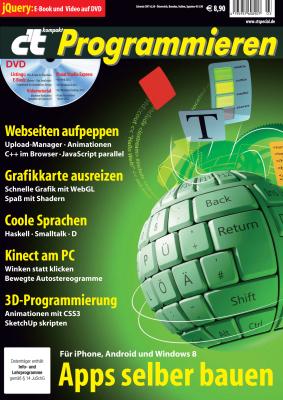 Titelseite der c't kompakt Programmieren
