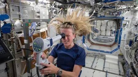 Was der Weltraum mit dem Astronautenkörper macht