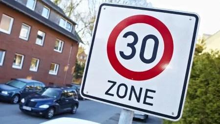 Freiburg möchte innerhalb der Stadt grundsätzlich Tempo 30 einführen