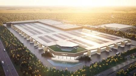 Tesla in Grünheide: Bund erlaubt erste Arbeiten für geplante Batteriefabrik