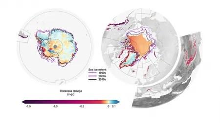 Klimawandel: Die Erde verlor seit 1994 mindestens 28 Billionen Tonnen Eis