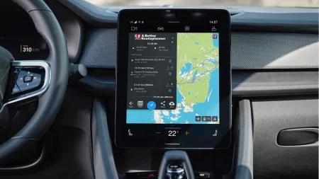 Elektroauto Polestar 2 integriert Navi-App ABRP