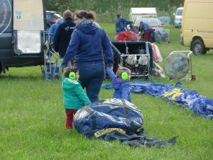 Belgischer ballonnachwuchs