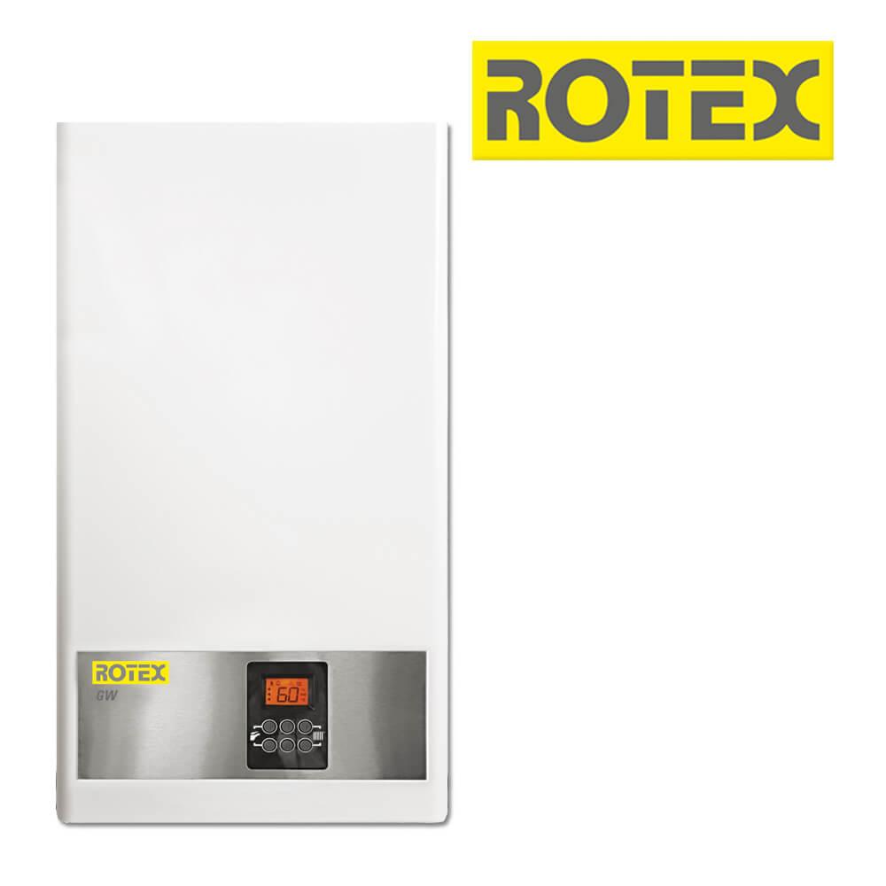 Rotex Gw 22C 22 Kw Gas-Brennwert-Kombitherme, Gastherme (Gas-Heizung