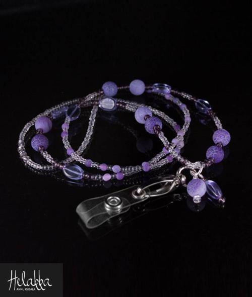 Helakka avainnauha violetti