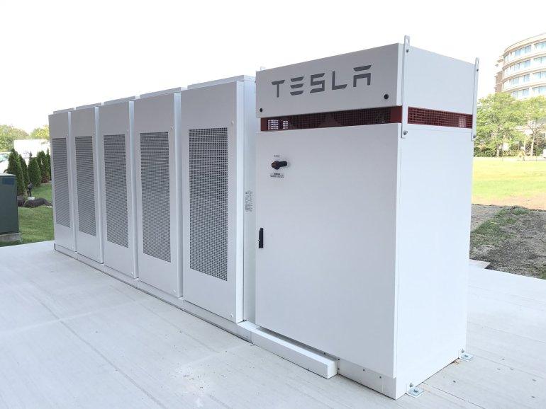 Tesla enerji depolama