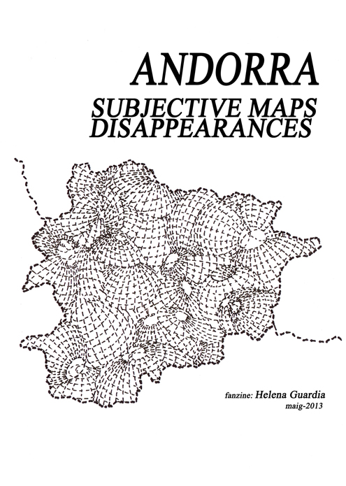 SUBJECTIVE MAPS/DISAPPEARANCES. National Gallery of