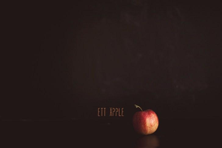 ett äpple