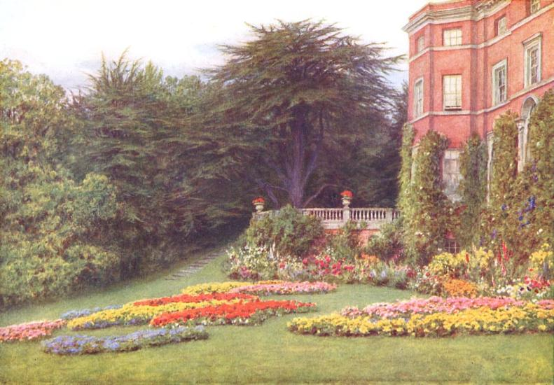 By the Terrace, Brocket Hall