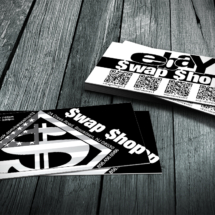 SWAPSHOP BUSINESS CARDS