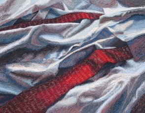 Punaisessa solmiossa sotilaiden nimet, 2007, 40 x 60 cm, myyty