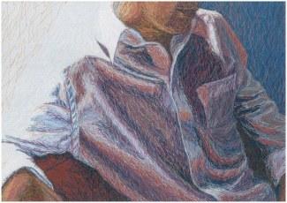 Valohoitoa, 2008, 40 x 60 cm, myyty