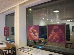 Kiss - teokset Aila Seppälän galleriassa 2010