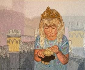 Prinsessa, 2015, 41 x 51 cm, myyty