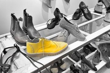 Lisbon handmade shoes shop monochrome Black&white colorpop