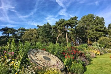 Timeless Lowther Gardens clock wordless wednesday snapped iphone6sPlus