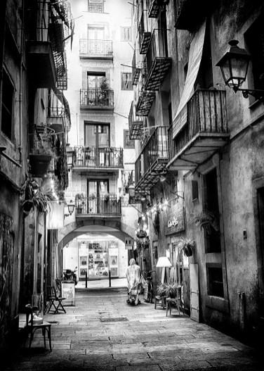 HOUSES: Barcelona, monochrome