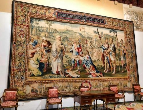Almudaina Palace 10Palma Mallorca Empty Chairs