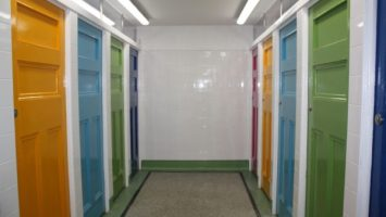 Gender Neutral Toilets at Gyllingvase Beach