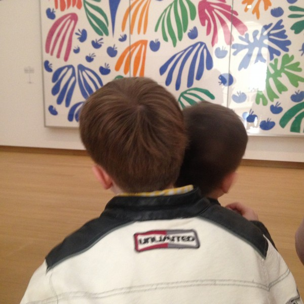 Deux spectateurs attentifs